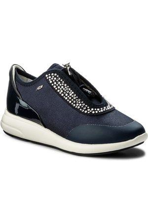 Geox Sneakersy D Ophira E D621CE 01402 C4002 Granatowy