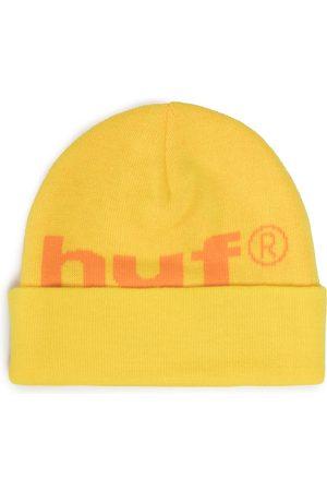 Huf Mężczyzna Czapki - Czapka - 98 Logo Beanie BN00093 Yellow