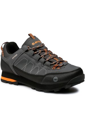 Hi-Tec Trekkingi - Gelen II Low Wp AVSAW20-HT-01-Q3 Dark Grey/Black/Orange