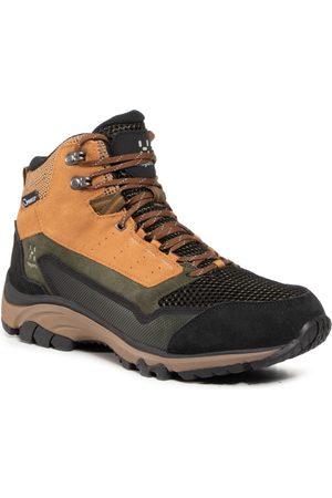 Haglöfs Mężczyzna Buty trekkingowe - Trekkingi HAGLÖFS - Skuta Mid Proof Eco Men 498080 Oak/Deep Woods