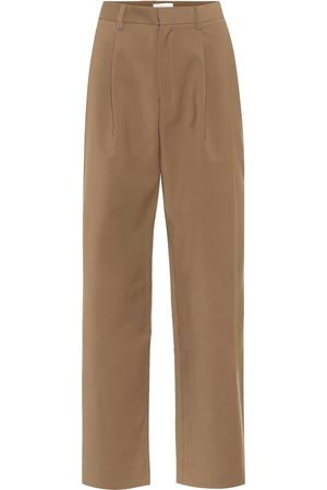 Deveaux New York Nicola high-rise straight pants