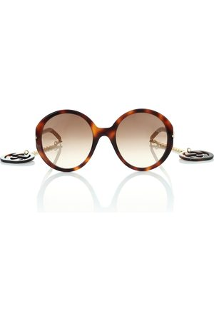 Gucci Round sunglasses with GG charms