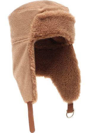 Max Mara Avy camel hair hat