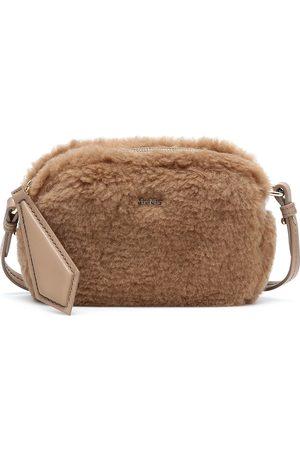 Max Mara Camy camel hair-blend crossbody bag