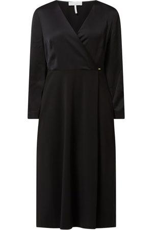 Cinque Sukienka midi w kopertowym stylu model 'Cidorothee'