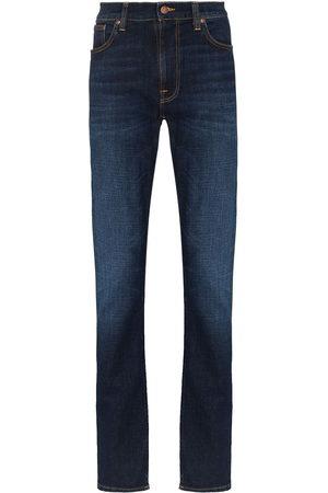 Nudie Jeans Mężczyzna Straight - Blue