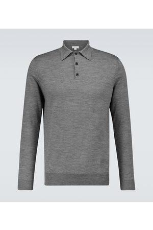 Sunspel Merino wool polo sweater