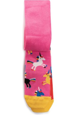 Happy Socks Dziewczynka Rajstopy i Pończochy - Rajstopy Dziecięce - KUNI60-3300