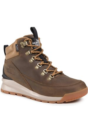The North Face Trekkingi - Back-To-Berkeley Mid Wp NF0A4AZEYW21 Utility Brown/Tnf Black