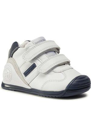 Biomecanics Chłopiec Sneakersy - Sneakersy - 151157 F1-Blanco Y Azul
