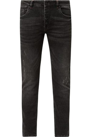 Blue Monkey Jeansy o kroju slim fit z dodatkiem streczu model 'Alex'