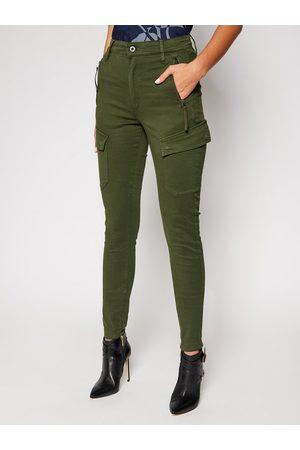 G-Star Spodnie materiałowe High G-Shape D18051-C106-C026 Skinny Fit