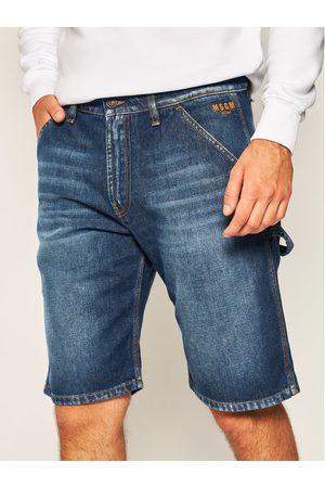 Msgm Szorty jeansowe 2840MB43L 207072 Granatowy Regular Fit