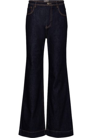 ULLA JOHNSON Theo high-rise wide-leg jeans