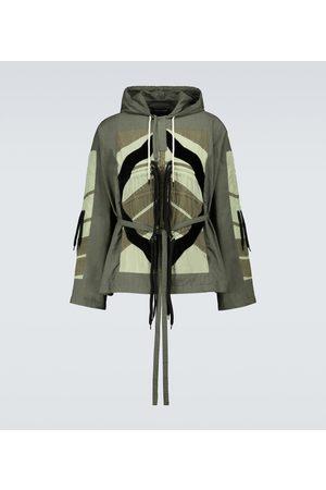 CRAIG GREEN Flower Diamond windbreaker jacket
