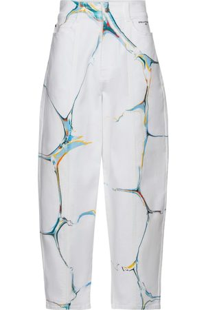 Stella McCartney High-rise stretch-cotton carrot jeans