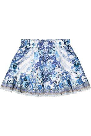 Camilla Dziewczynka Spódnice - Embellished cotton skirt