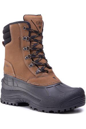 CMP Mężczyzna Botki - Śniegowce - Kinos Snow Boots Wp 3Q48867 Castoro P758