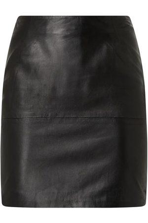 Ichi Spódnica mini ze skóry model 'Darin'