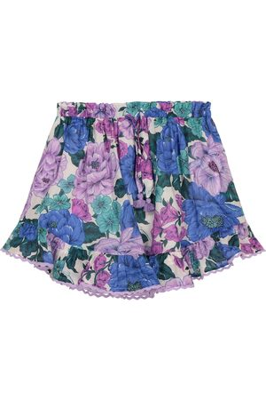 ZIMMERMANN Poppy floral cotton voile skirt