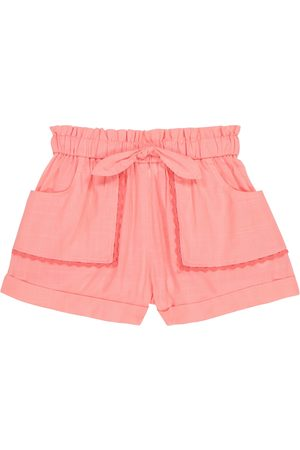 ZIMMERMANN Poppy cotton voile shorts