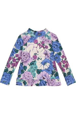 ZIMMERMANN Exclusive to Mytheresa – Poppy ruffled floral rash guard