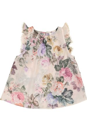 ZIMMERMANN Exclusive to Mytheresa – Brighton floral cotton voile top
