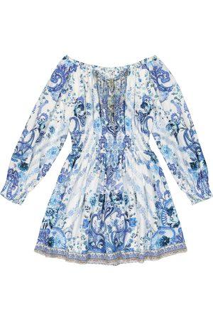 Camilla Paisley cotton dress
