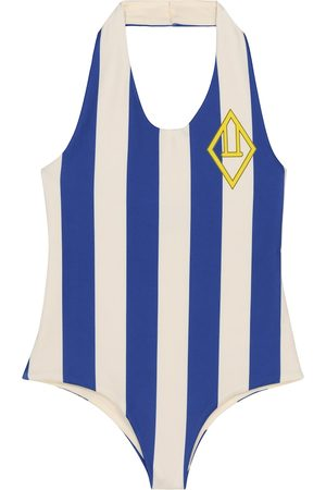 The Animals Observatory Fish striped swimsuit