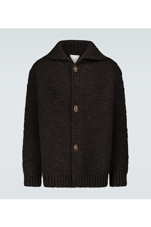 Bottega Veneta Oversized heavy wool cardigan
