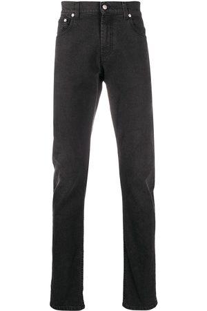 Alexander McQueen Mężczyzna Rurki i Slim Fit - Grey