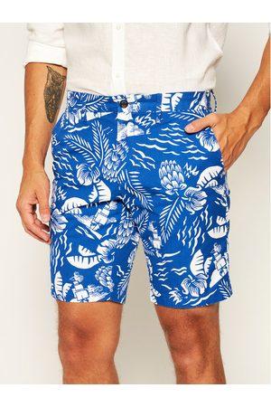 Tommy Hilfiger Szorty materiałowe Brooklyn Hawaii Print MW0MW13528 Regular Fit