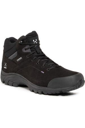 Haglöfs Mężczyzna Buty trekkingowe - Trekkingi HAGLÖFS - Ridge Mid Gt Men 497800 True Black