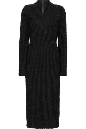 Dolce & Gabbana Stretch-wool knit midi dress