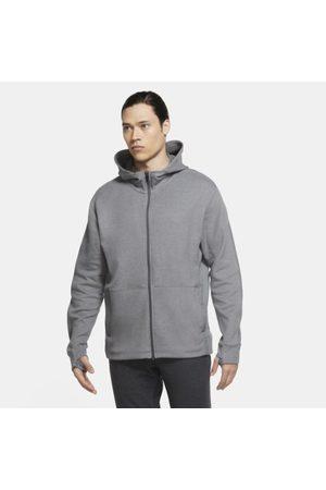Nike Męska bluza z kapturem i zamkiem na całej długości Yoga