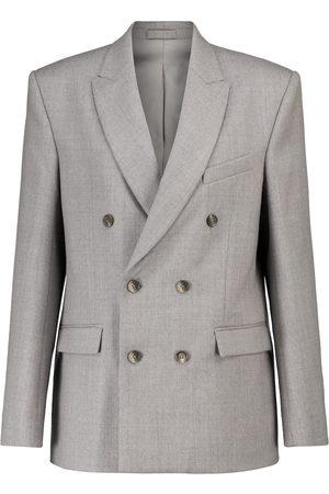WARDROBE.NYC Release 04 wool flannel blazer