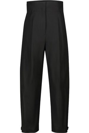 Dorothee Schumacher Taffeta Renewal high-rise tapered pants