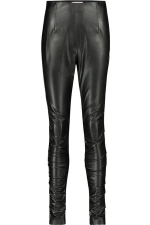 Dorothee Schumacher Sleek Performance faux leather skinny pants