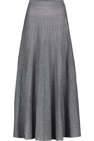 Joseph Kobieta Spódnice midi - High-rise metallic midi skirt
