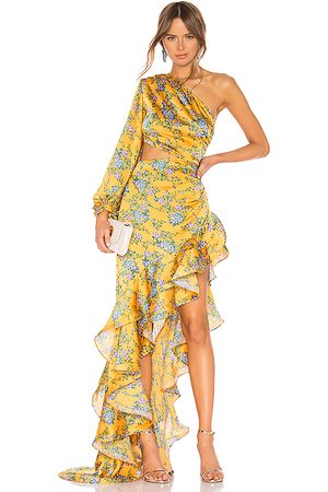 Bronx and Banco Hanna Gown in - Yellow. Size L (also in M, XL, XS).