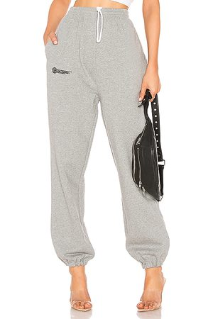 DANIELLE GUIZIO Fleece Sweatpant in - Gray. Size L (also in M, S, XS).