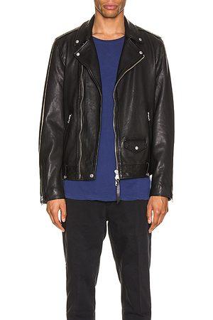 AllSaints Milo Biker Jacket in - . Size M (also in S, XL).
