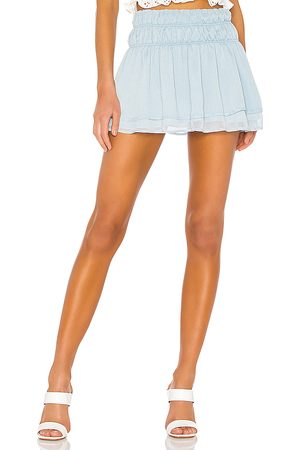 Tularosa Natalie Skirt in - Blue. Size XS (also in XXS, S, M, L, XL).