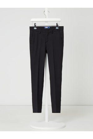 Jack & Jones Chłopiec Spodnie eleganckie - Spodnie do garnituru o kroju regular fit z dodatkiem wełny model 'Solaris'