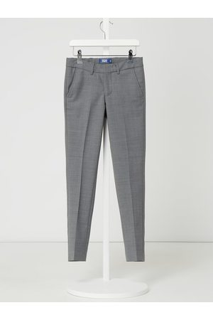 Jack & Jones Spodnie do garnituru o kroju regular fit z dodatkiem wełny model 'Solaris'