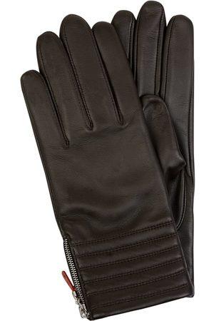 Roeckl Rękawiczki skórzane z zamkiem błyskawicznym