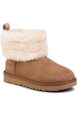 UGG Buty - W Fluff Mini Quilted 1098533 Che