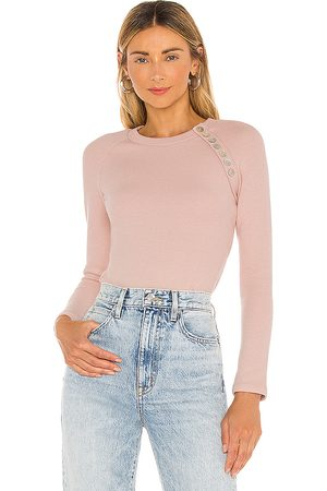 Lovers + Friends Remora Bodysuit in - Pink. Size M (also in XXS, XS, S, XL).