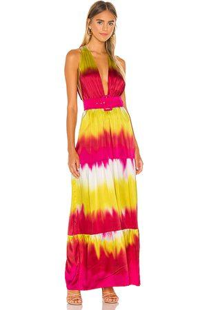 Lovers + Friends Kobieta Sukienki maxi - Lauren Maxi Dress in - Fuchsia. Size L (also in XXS, XS, S, M, XL).