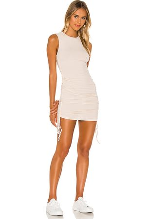 BB Sleeveless Mini Dress in - Cream. Size L (also in M).